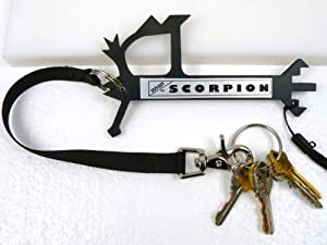 """WHIP SCORPION PROTECTOR SELF DEFENSE KEYCHAIN! A COMPLETE SELF DEFENSE AND SELF PROTECTION SYSTEM FOR MEN AND WOMEN! """"Be The Victor Not The Victim"""" Get Your WHIP Self Defense Keychain Today! WHIP=We Have Instant Protection."""