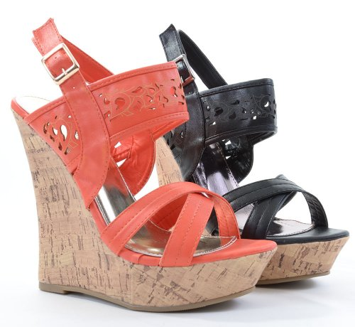 Funky Wedge Sandals front-996158