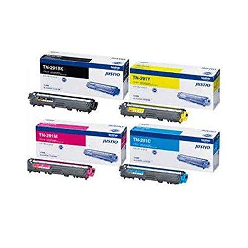 ブラザー トナーカートリッジTN-291BK/TN-296CMY 4色セット 純正品