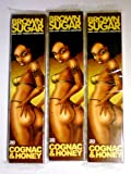 3 booklets x BROWN SUGAR Cognac Honey King Size Rolling paper