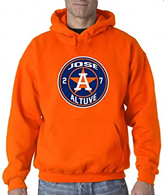 "Jose Altuve Houston Astros ""LOGO"" Hooded Sweatshirt"