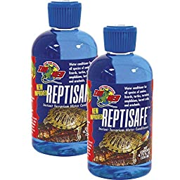 Zoo Med ReptiSafe Instant Terrarium Water Conditioner 8.75 Ounces [2-Pack]