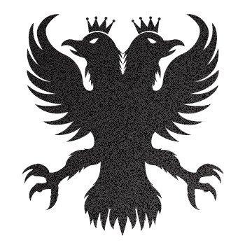 Royal Eagle... Black-Metallic (10 X 9.1 inch) W7X4W