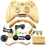 Super Wood Grain Wireless Game Controller Shell Kit For Xbox 360