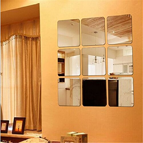 Acrylic Crystal Mirror Wall Sticker