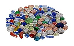 Orchard Multicolor Decorative Glass Pebbles