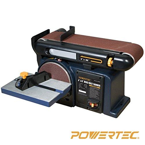 POWERTEC-BD4600-Woodworking-Belt-Disc-Sander-4-x-6-Inch