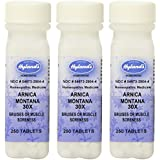 Hyland's Arnica Montana 30X Tablets, Natural Homeopathic Bruising, Pain, and Muscle Soreness Relief, 750 Count