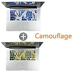 [2 Pack] Keyboard Cover Silicone Skin for MacBook Pro 13