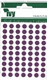 Purple DOTS Self Adhesive labels 8mm Dia 232720