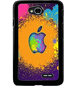 ColourCraft Printed Design Back Case Cover for LG L70