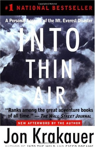 A report on the book into thin air by jon krakauer