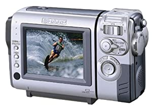 "Sharp VLNZ50U MiniDV Compact Digital Viewcam with 3"" Color LCD Screen"