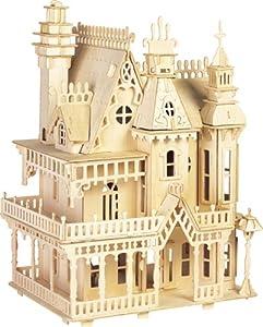Fantasy Villa - Woodcraft Construction Kit