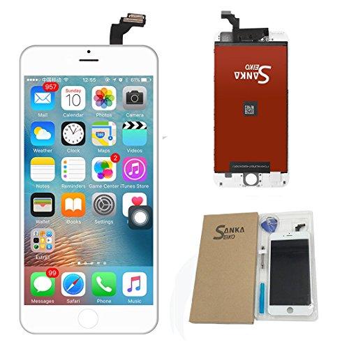 """Ecran tactile LCD de rechange avec numériseur de rechange pour Apple iPhone 6Plus(5.5"""")- blanc"""