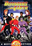 Defenders of the Earth - Complete Movie Collection - The Story Begins , Necklace of Oros , Book of Mysteries , Prince of Kro-tan - Box Set - 362 Minutes