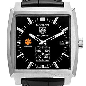 Clemson University TAG Heuer Watch - Mens Monaco Watch at M.LaHart by TAG Heuer