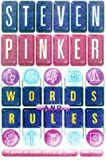 Prof Steven Pinker Words And Rules (Science Masters)