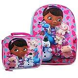 Disney Doc McStuffins Backpack and Lunch Bag Set