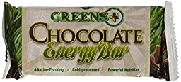 Greens Plus Energy Bar Chocolate (12x2.08OZ )