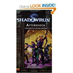 Shadowrun #5: Aftershock A Shadowrun Novel by Jean Rabe and John Helfers