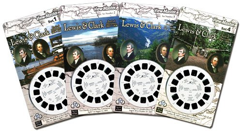 View-Master-Scenic-4-Card-Sets-Lewis-Clark-Trail