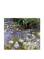 Especial Arte Lienzo Water Lilies Multicolor