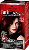 Schwarzkopf Brillance Intensiv Lot de 3 colorations crèmes 896 Noir rouge