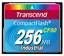 Transcend Compact Flash Produkte 256MB Flash (80X)