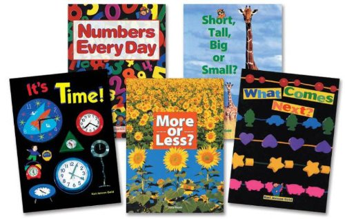 Childcraft Math Big Book Set 2 - 14 X 20 Inches - Set Of 5 Books front-947460