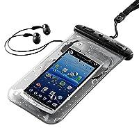 サンワダイレクト 防水ケース イヤホン付き iPhone6 iPhone5s スマートフォン 対応 200-PDA044