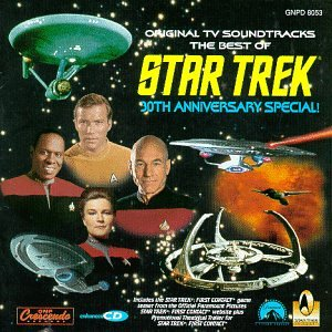 The Best Of Star Trek: 30th Anniversary Special! Original TV Soundtrack [Enhanced CD]