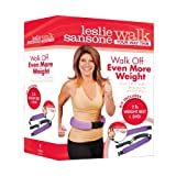 Leslie Sansone Walk Off Even More Weight DVD Set with Belt
