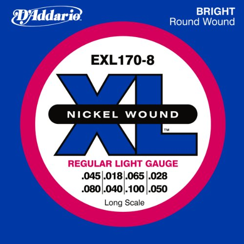 D'Addario EXL170-8 8-String Nickel Wound Bass