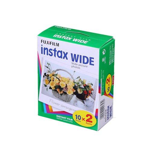 Fujifilm 20-INS100KIT Instax Film 100 Image Kit. 10 Pack / 5 Double Pack