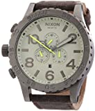 Nixon The 51-30 Chrono Leather A1241388-00 Unisexuhr