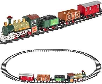 BCP Kids Classic Battery Operated Railway Train Set