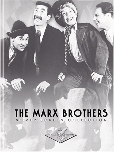 The Marx Brothers Silver Screen Collection (The Cocoanuts / Animal Crackers / Monkey Business / Horse Feathers / Duck Soup) (Marx Brothers Duck Soup compare prices)