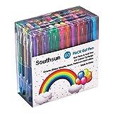 60色ジェルインクボールペン gel pen サウスサン カラーペン 彩色筆 塗り絵用 多彩文字ゲルインク ジェルインク 秘密の庭園にピッタリ0.6mm-1.0mm 60色セットSSP11