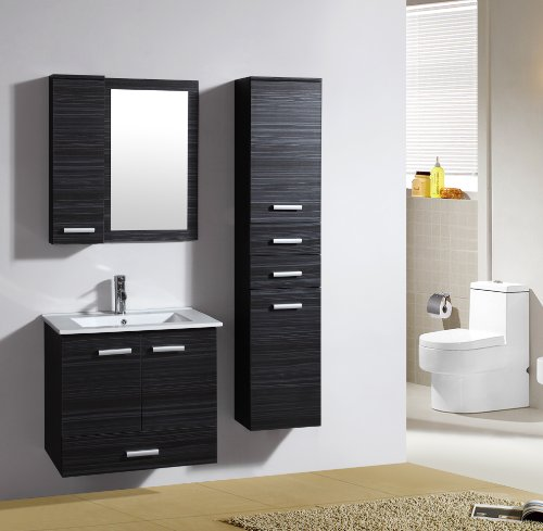 ensemble meuble de salle de bain bilbao weng m 70282 1190 mirroir tag re suspendue. Black Bedroom Furniture Sets. Home Design Ideas