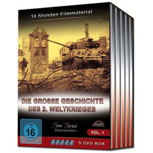 Die große Geschichte des 2. Weltkrieges - Vol. 1 (5 DVD BOX)