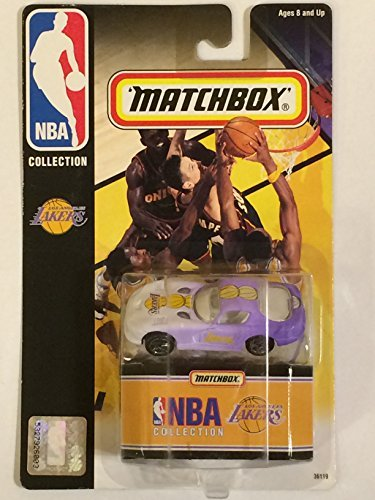 Los Angeles Lakers Dodge Viper 1998 Diecast Matchbox NBA Car