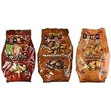 3 Variety Brach's Candy Corn 1 Lb Bag: Peanut Butter Cup, Apple Mix, Caramel