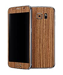 dbrand Zebra Wood Front and Back Mobile Skin for Samsung Galaxy S6