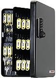 KeyGuard SL-9122-E Electronic Key Cabinet With Black Combi-Cam-E - 122 Hook