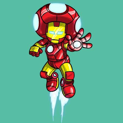 "Video Game Parody ""The Plungers"" As The Machine Man Comic Super Hero Movie Logo - Vinyl Sticker front-338098"