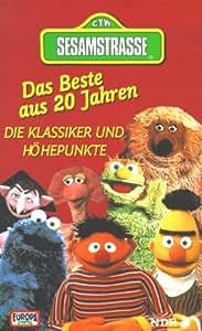 Sesamstraße - Das Beste aus 20 Jahren [VHS]