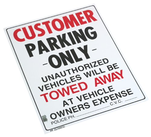 Customer Parking - Buy Customer Parking - Purchase Customer Parking (P-t Templet, Home & Garden,Categories,Patio Lawn & Garden,Outdoor Decor)