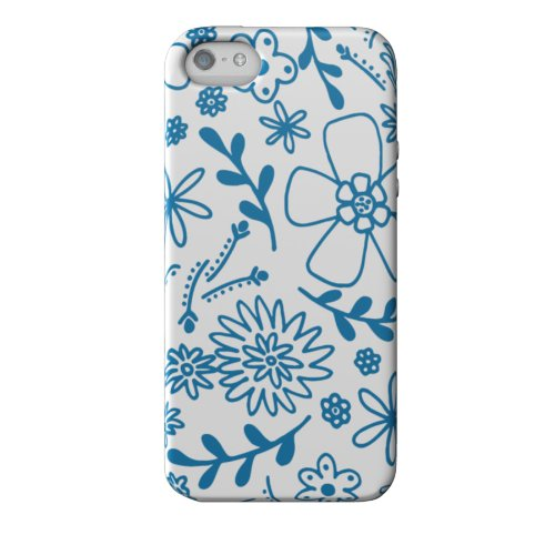 Best Price Elibrium Style 365 Extra Durable Designer Case for iPhone 5, Dahlia Indigo