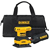 Home Improvement - DEWALT D26441K 2.4-AMP Orbital 1/4-Sheet Sander with Cloth Dust Bag